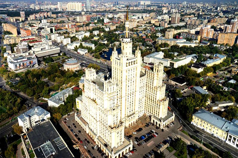 Сталинская высотка на Баррикадной