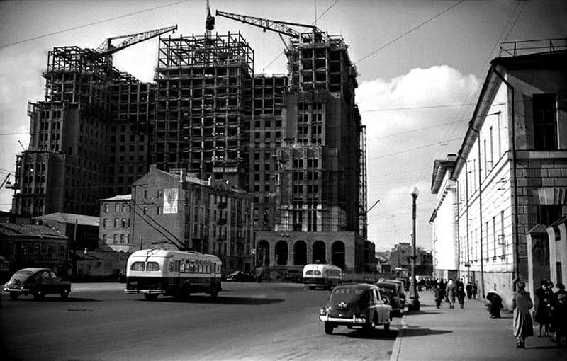 Строительство ещё одной сталинской высотки