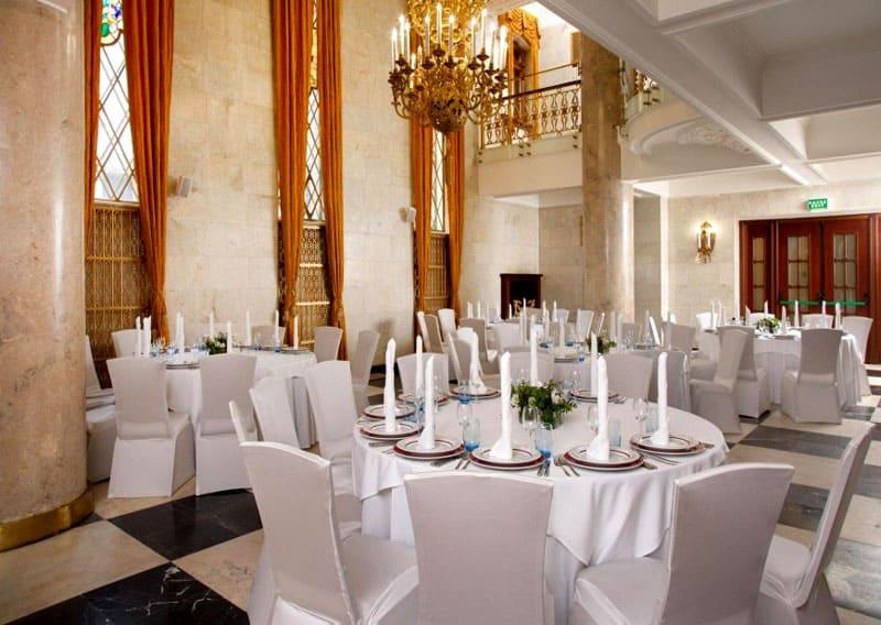 Ресторан в Hilton Moscow-Leningradskaya