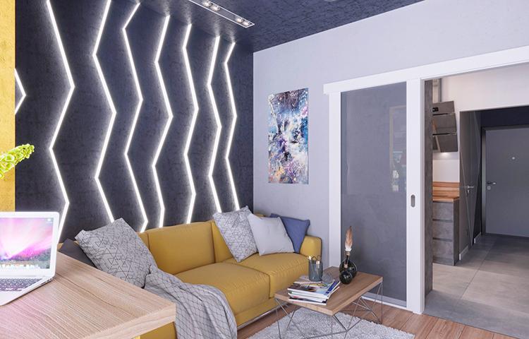 Сочетание уюта и современного стиля, то что я и хотел!