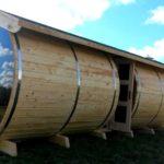 На зависть Диогену: баня-бочка своими руками, особенности конструкции