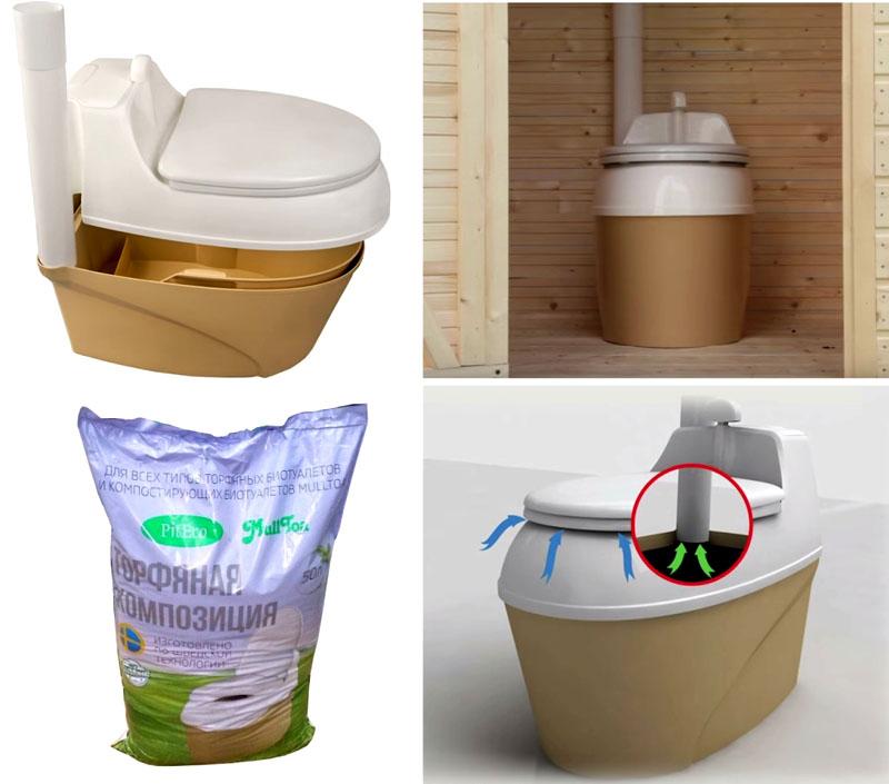 Торфяные биотуалеты можно назвать самым чистым и экологичным вариантом для тех, кто переживает за то, каким получится компост