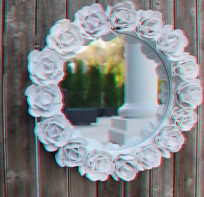Декор старого зеркала