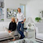 Белоснежные интерьеры домов и квартиры Яны Рудковской и Евгения Плющенко