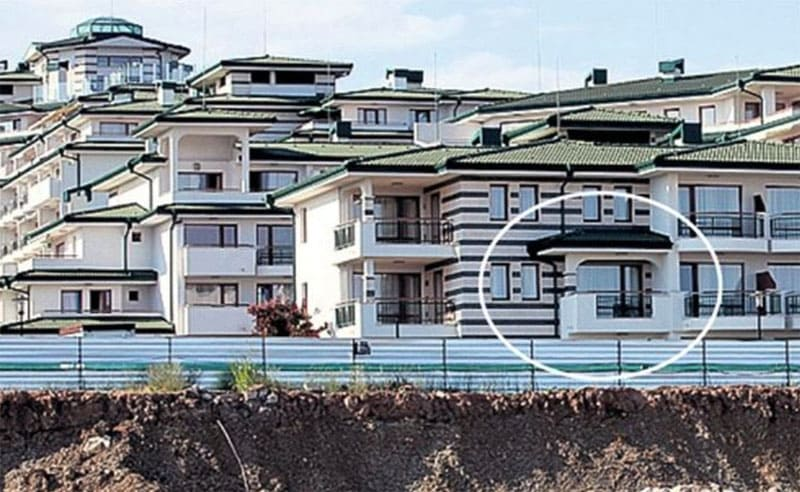 Одна из квартир в Болгарии
