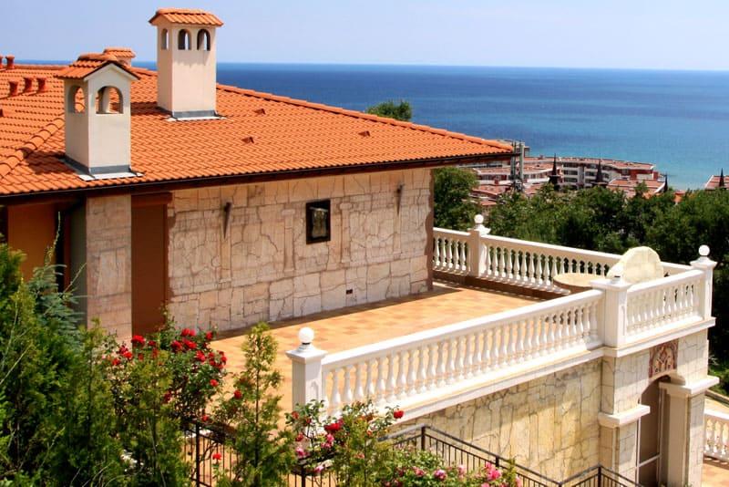 Вилла на берегу моря в Болгарии