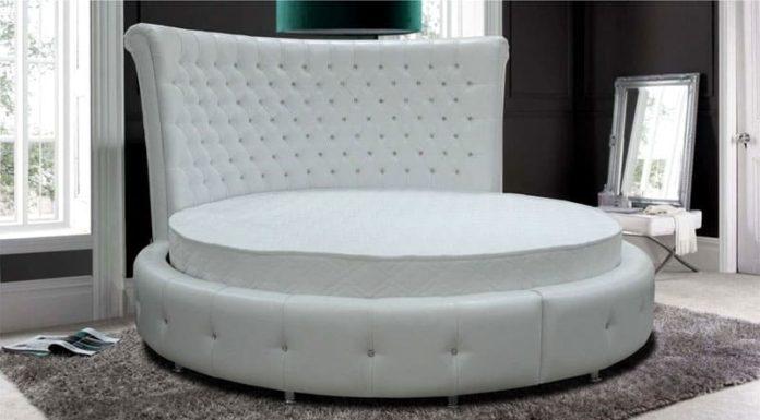 Функциональность, стиль, дизайн: двуспальная кровать с подъёмным механизмом