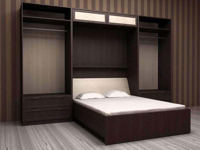 Механизм, встроенный в шкаф, сможет сохранить пространство