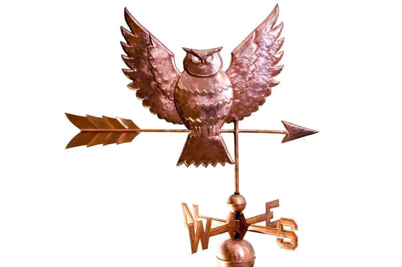 Мудрость хозяина дома будет символизировать сова