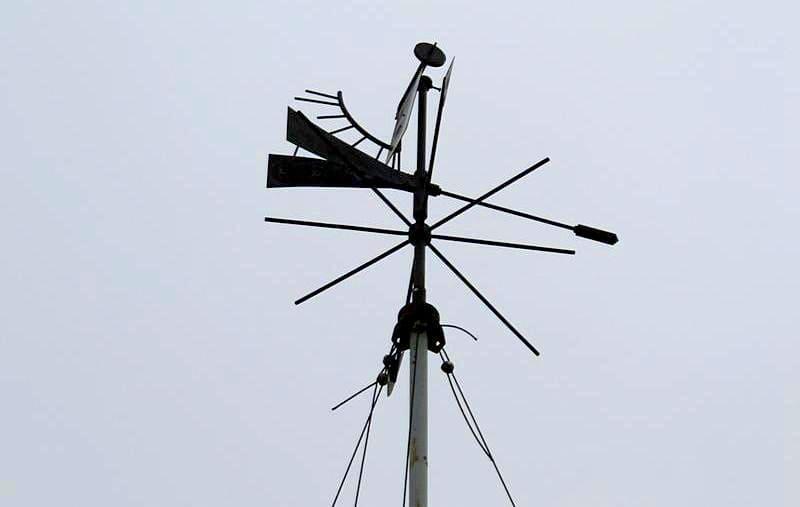 Чем больше угол наклона пластины, тем сильнее ветер