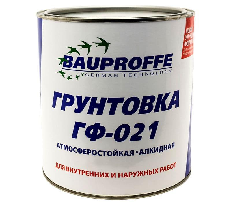 Грунтовка ГФ-021 является токсичным и легковоспламеняющимся материалом