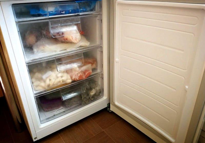 Морозильная камера холодильника системы «Frost Free»