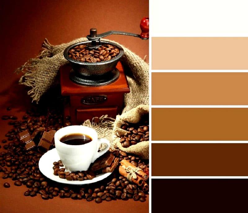 Кофейные оттенки