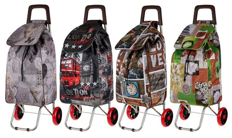 В такой сумке на колесах даже большое количество учебников – не предел!