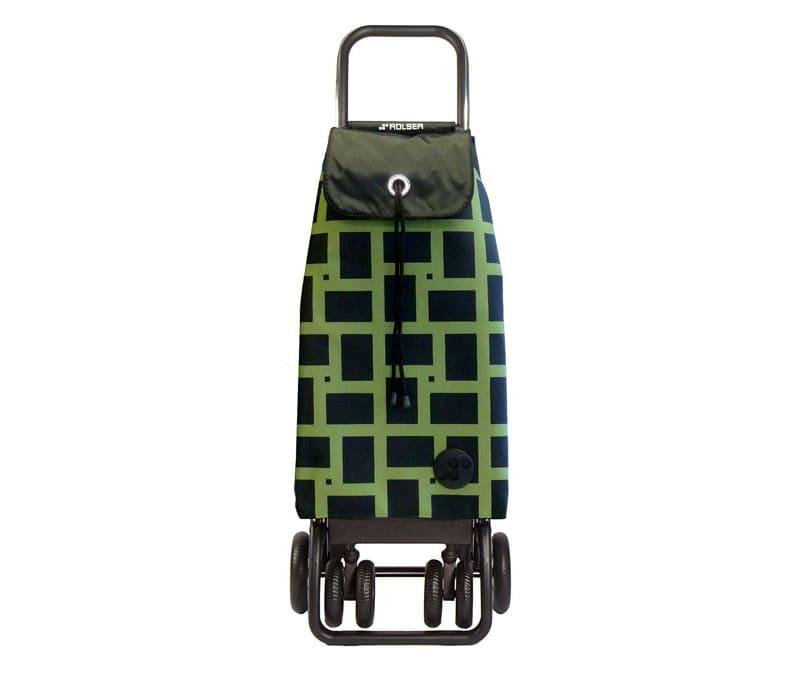 Сумка-тележкаRolser JET034 verde Joy. Стоимость модели 5200 рублей
