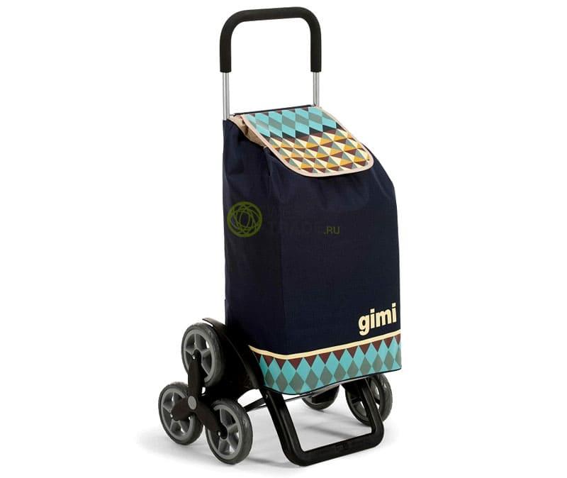 «Шагающая» сумка-тележка на колёсах. Такая конструкция без труда позволит преодолеть ступеньки