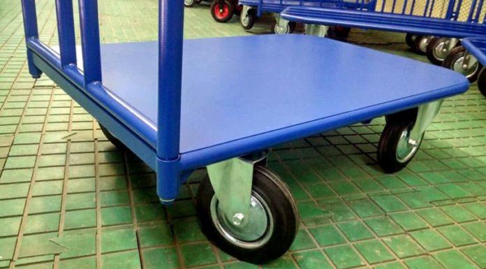 Хозяйственная тележка на колёсах: модели для разных задач