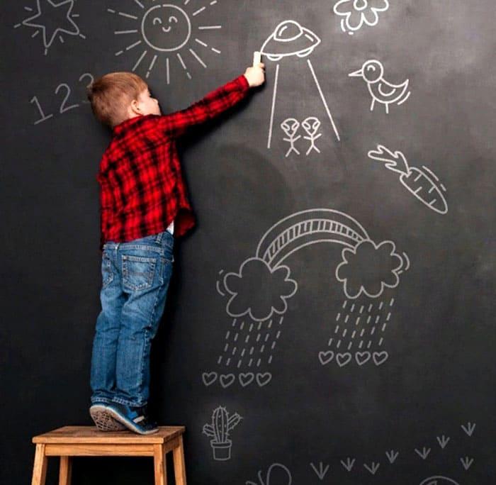 С такой доской вы можете превратиться в учителя, а ваш ребёнок в прилежного ученика или наоборот