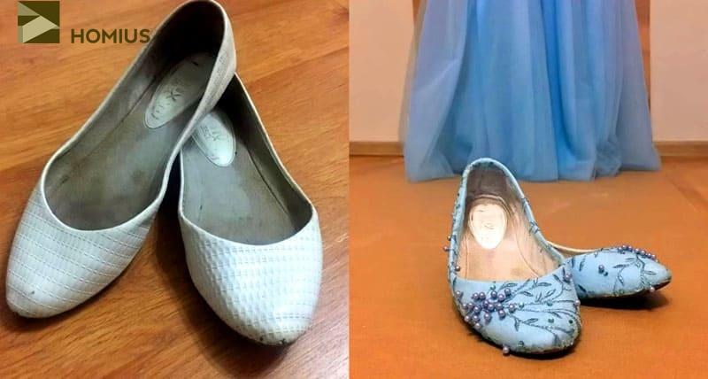 Почувствуйте разницу: балетки до и после