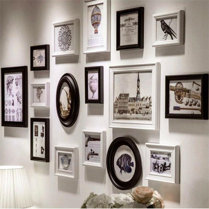 как красиво оформить стену фотографиями следует названия это