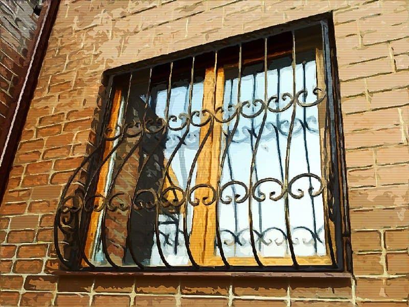 Корзины и схемы навесов на окна в квартирах без балкона