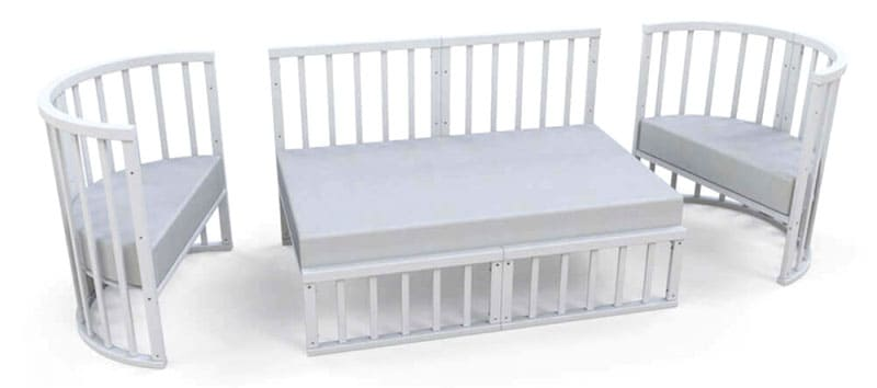 Кроватка одиннадцать в одном прослужит много лет