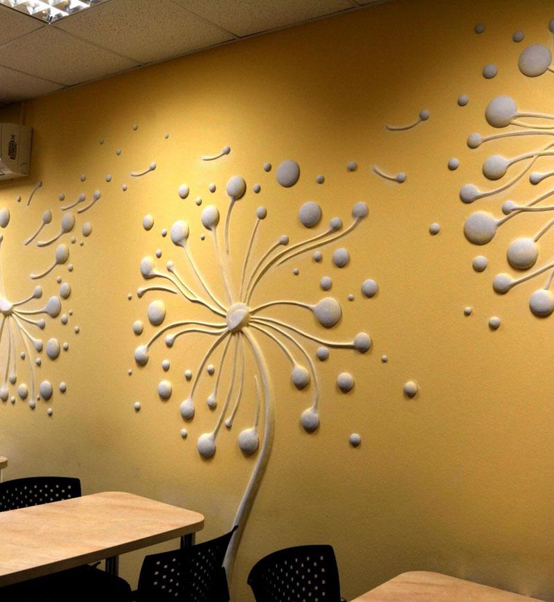 Лепнину используют для декорирования общественных заведений