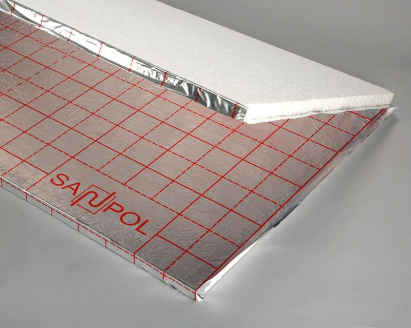 Фольгированный слой улучшает перераспределение теплового потока