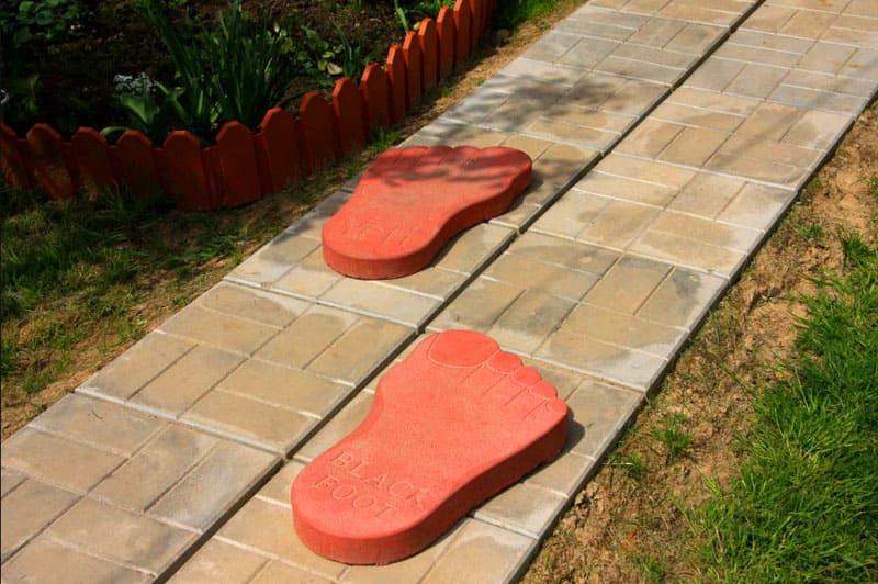 Садовые дорожки – прекрасный способ испытать технологию в условиях улицы
