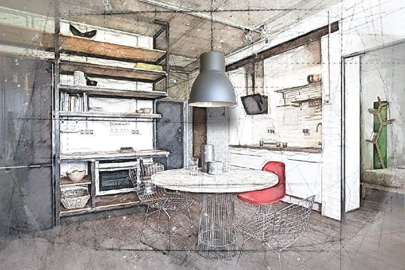 Перепланировка квартиры свободной площади