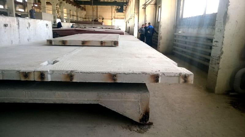 Ребристые перекрытия используются для возведения высотных конструкций