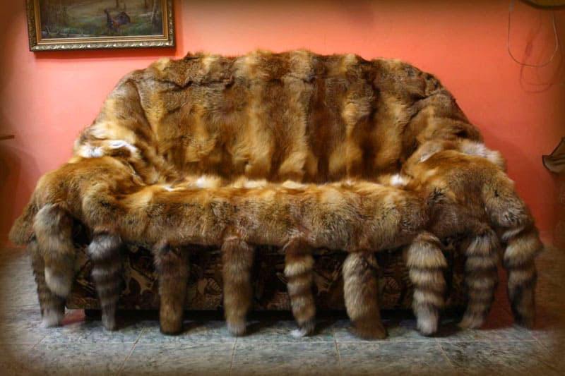 Изделия из меха украсят любую обстановку и согреют в холодное время года