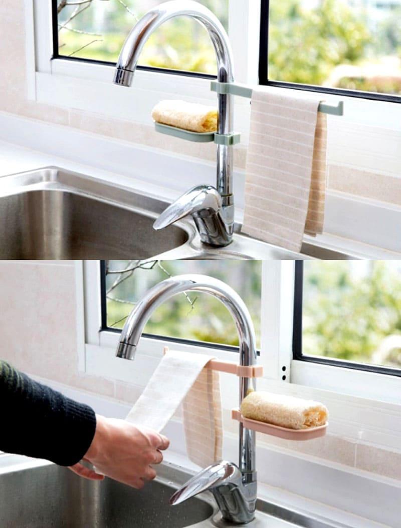 С такой мыльницей о размокшем мыле в кухонной раковине вы зебудете навсегда
