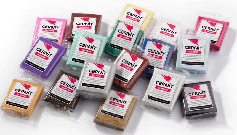 Разнообразие оттенков «Cernit»
