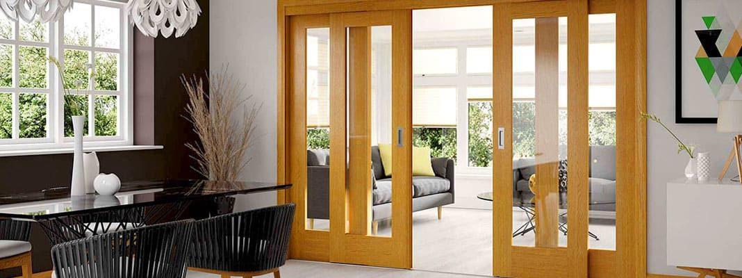 Раздвижные или сдвижные межкомнатные двери