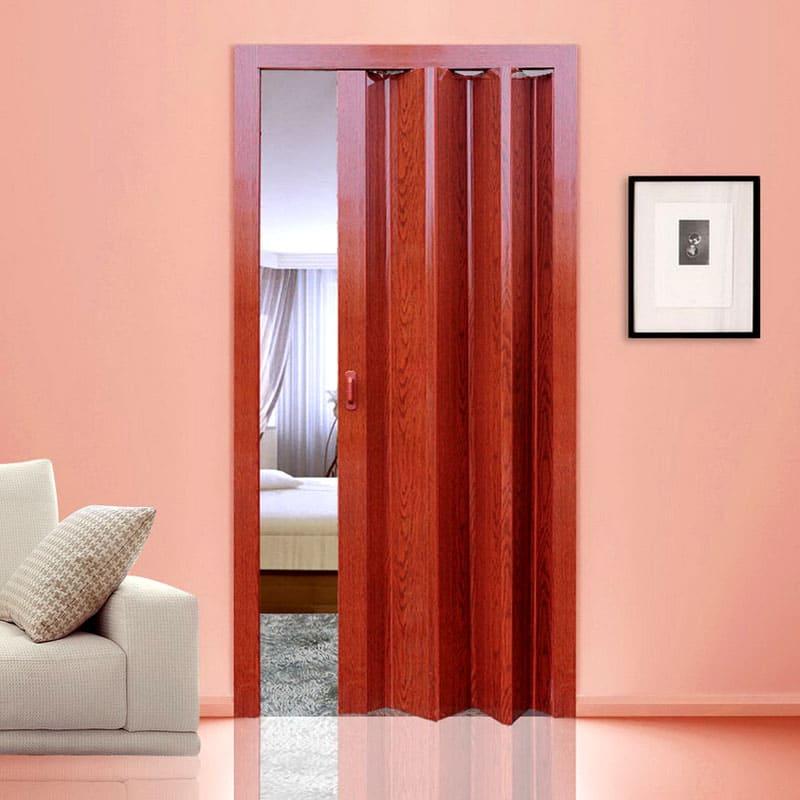 Раздвижно-складные двери используются в ограниченном пространстве