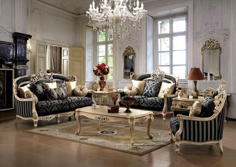 Мебель и текстильная мануфактура должны создать цветовой контраст напольному и стеновому покрытию