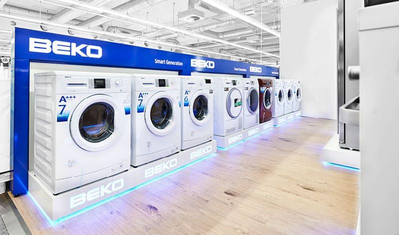 Производитель Беко выпускает широкий ассортимент стиральных машин с разнообразным функционалом
