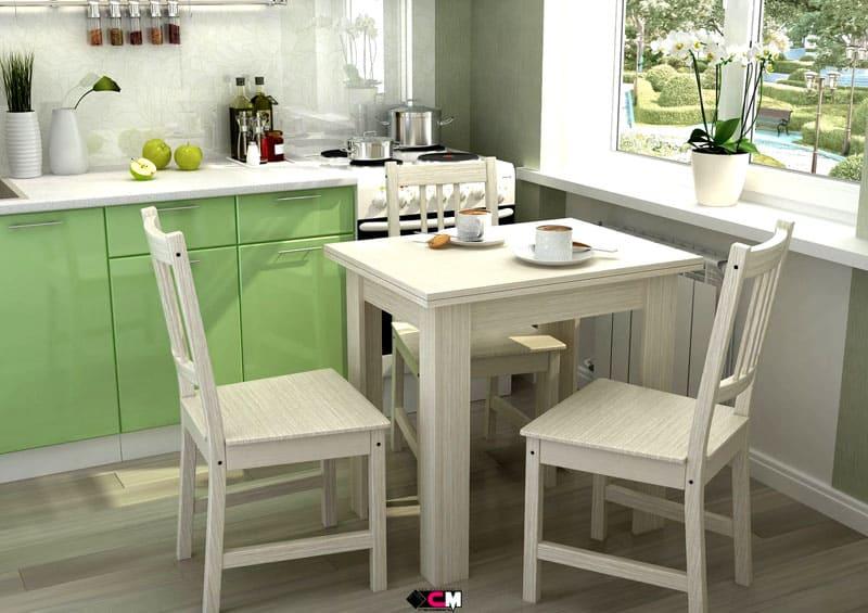Деревянный столик для стиля кантри