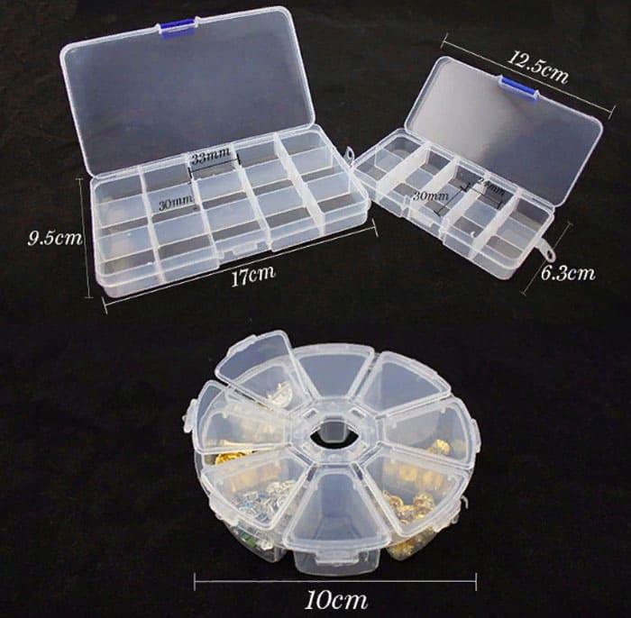 Удобный кейс для хранения мелочей позволит экономить время на поиск нужного аксессуара
