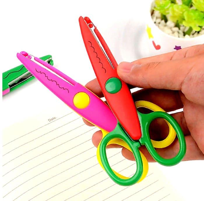 Фигурные ножницы для обработки краёв