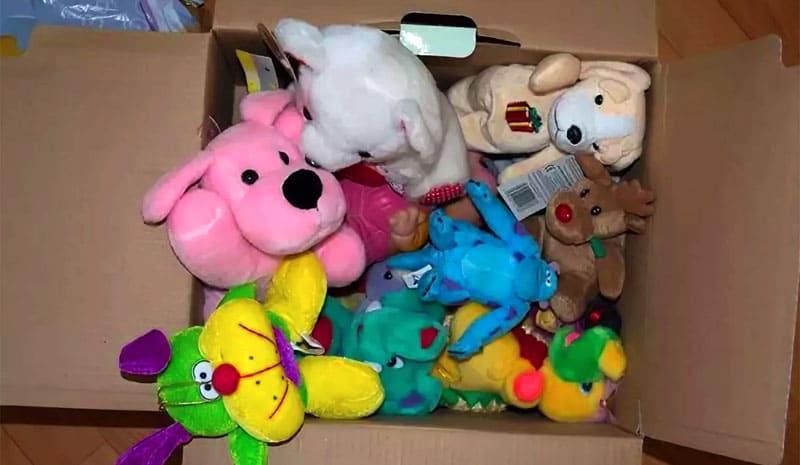 Игрушки в отличном состоянии можно отдать в детский дом