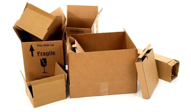 Коробки можно отдать волонтёрам в качестве подстилки для животных