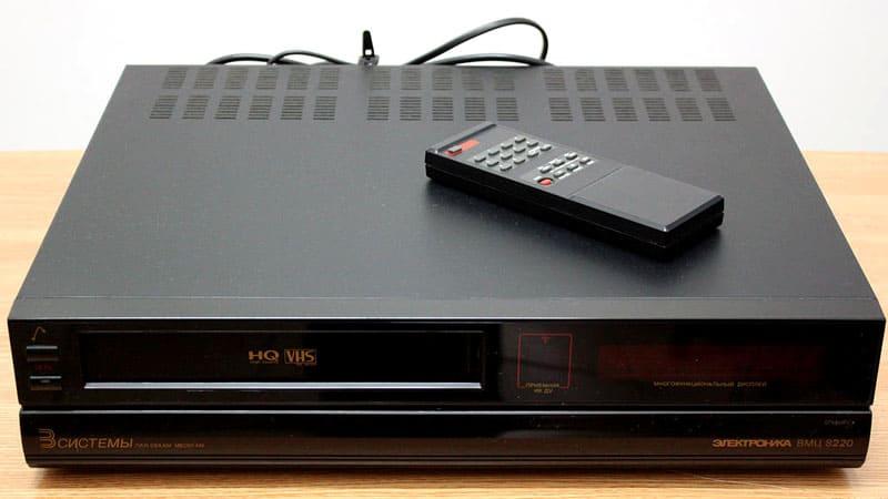Старый видеомагнитофон пригодится только для истории