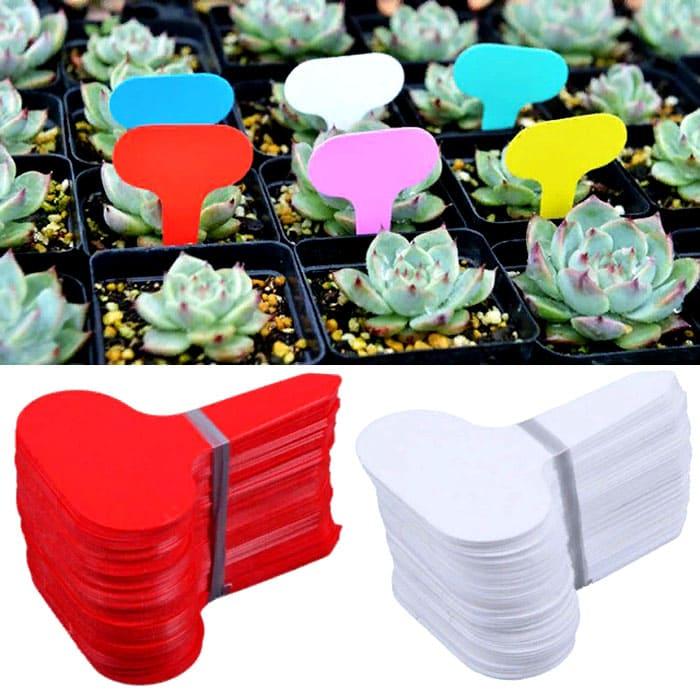 Ярлыки используются при выполнении посадочных работ на садово-огородных участках в качестве информационных табличек