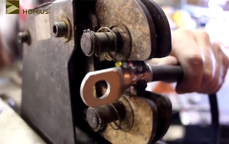 Производственный кримпер – наилучший вариант для обжимки наконечников