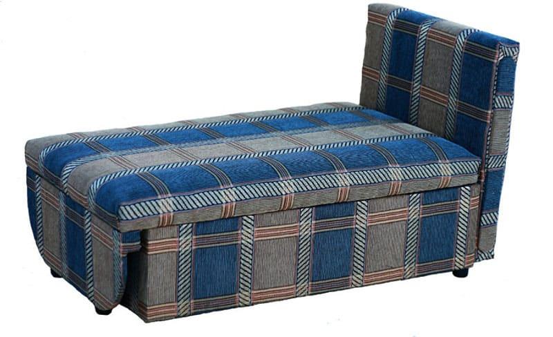 Детский диванчик из шинилла