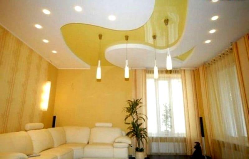 Основная функция зонирования помещения при помощи источников освещения