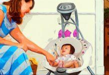Электрокачели для новорожденных