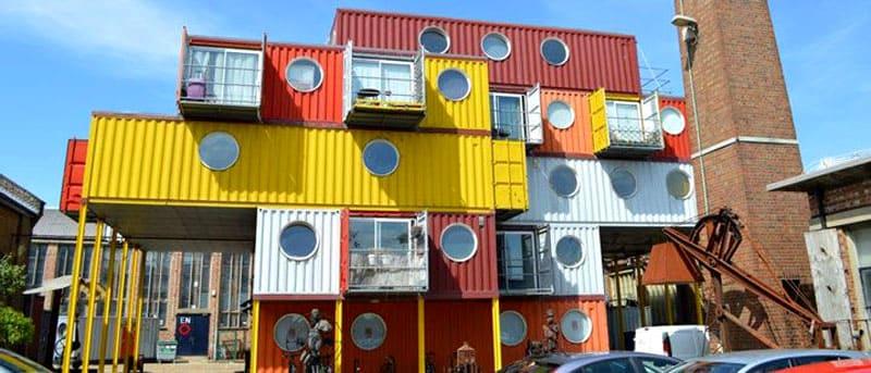 Модульное строительство с использованием контейнеров